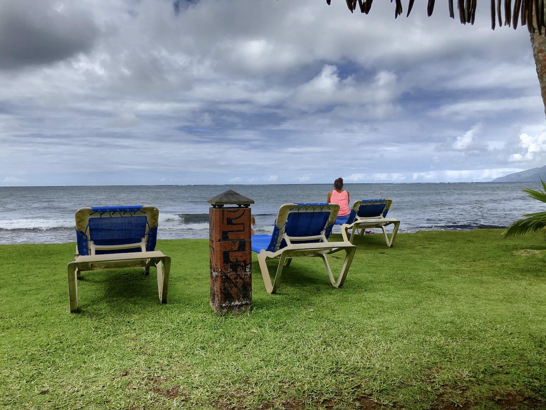 Relaxen bei Carlos' Bungalowanlage, Tahiti