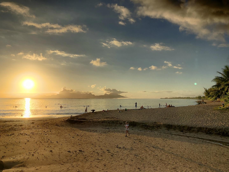 Vaiva Strand, Tahiti