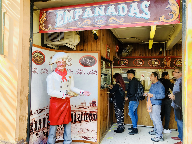 Zunino Empanadas, Santiago de Chile