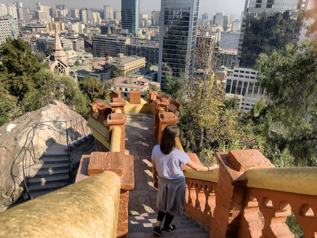 Ausblick vom Cerro Santa Lucía, Santiago de Chile Tipps