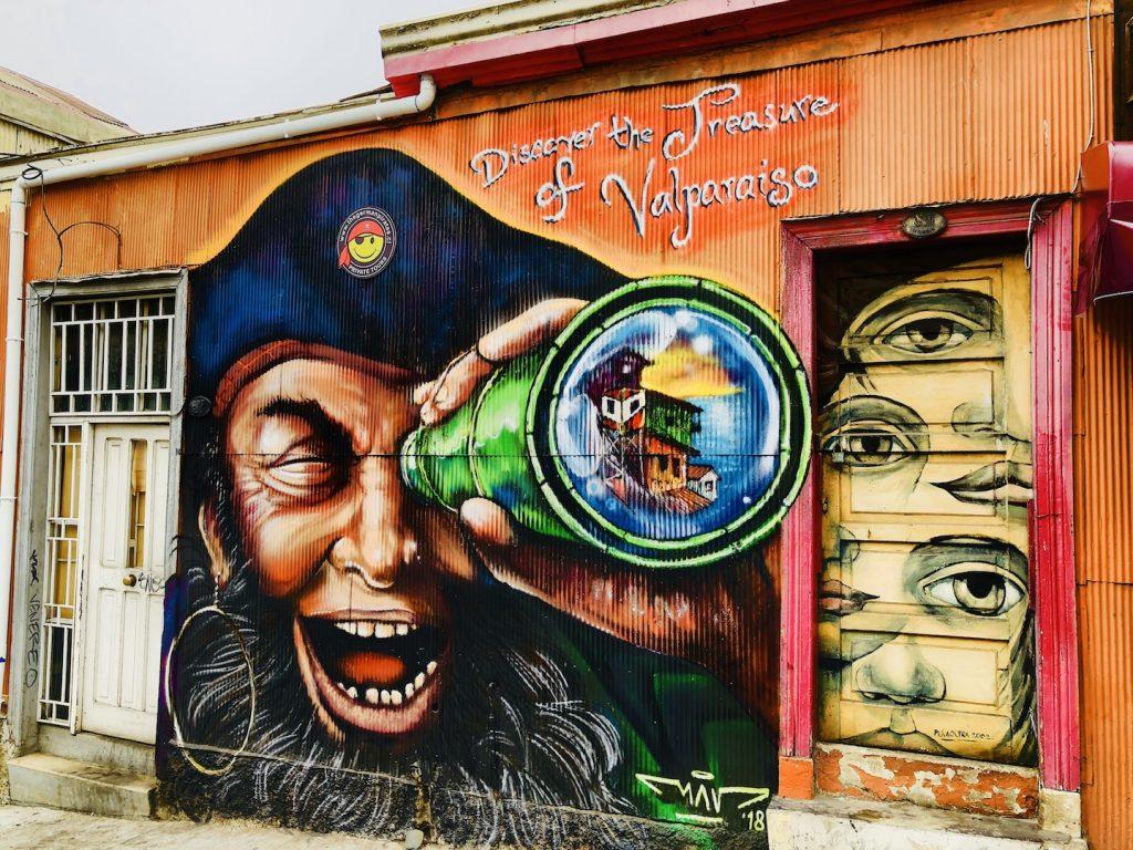 Streetart in Valparaiso
