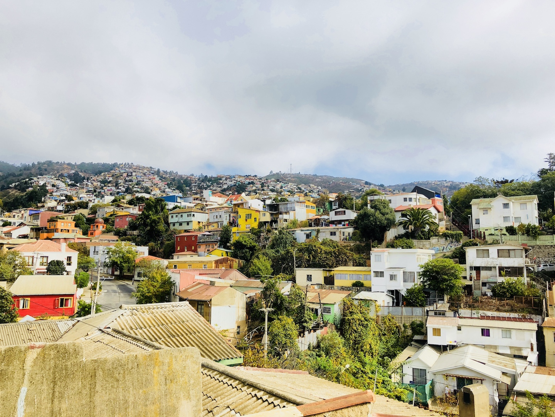 Blick auf Valparaiso, Chile