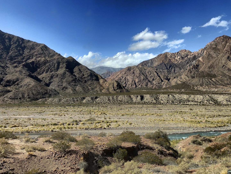 Fahrt über die Anden