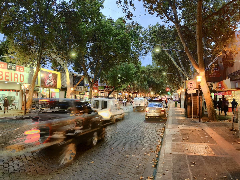 Innenstadt, Mendoza, Argentinien