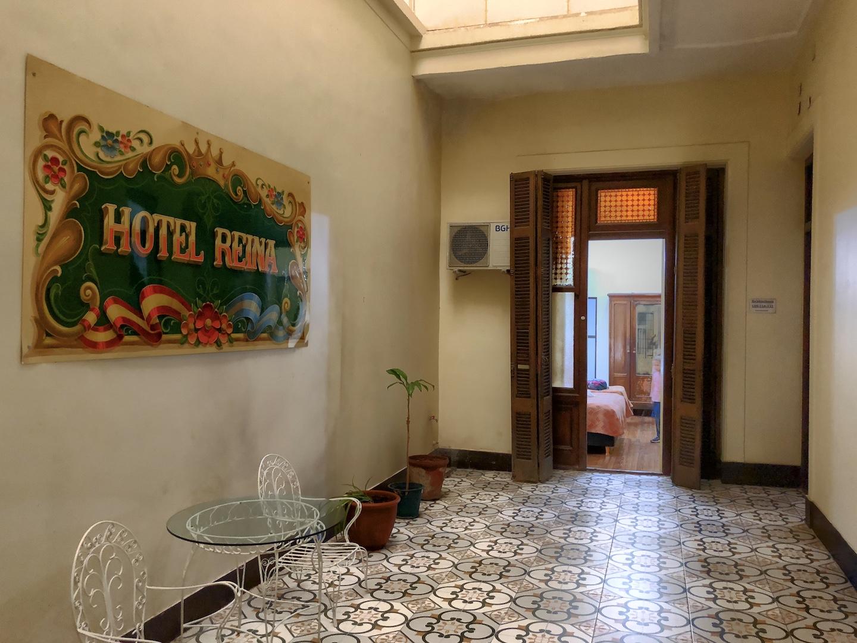 Zimmer im Hotel Reina, Buenos Aires