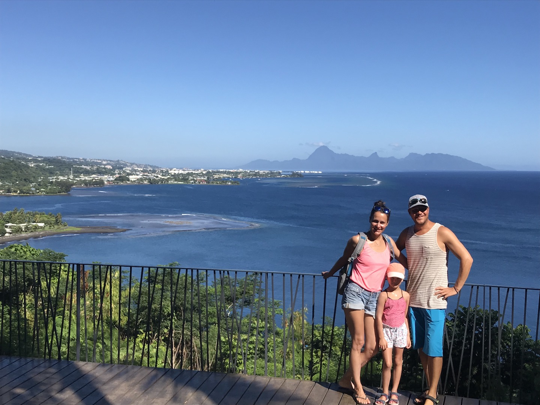 Tahiti, Bucht, wo James Cook angekommen ist