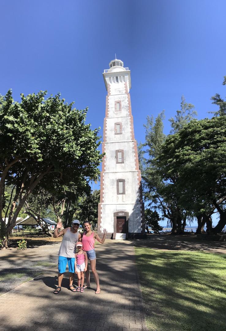 Leuchtturm am Pointe Vénus, Tahiti