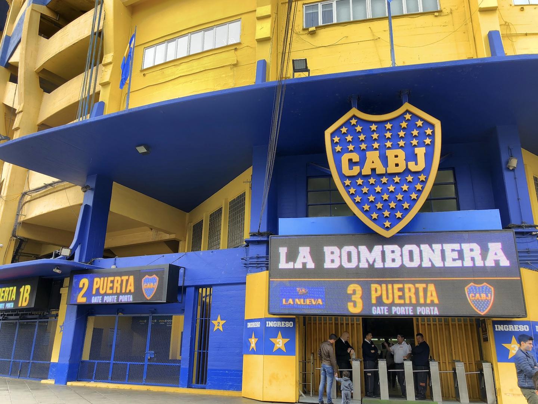 Fußballstadion, La Bombonera, Buenos Aires