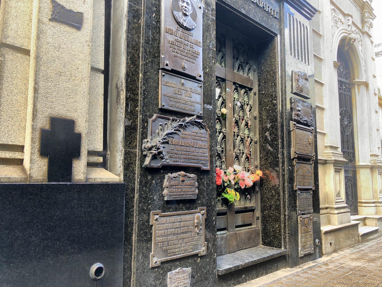 Grabstätte Eva Perón, La Recoleta, Buenos Aires