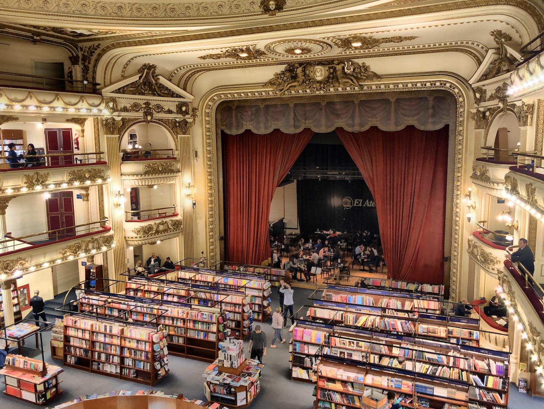 El Ateneo Buchhandlung, Buenos Aires