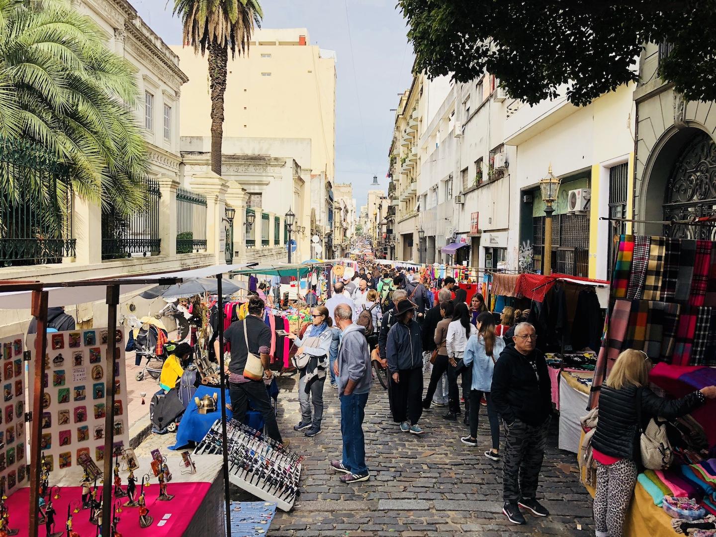 Flohmarkt, San Telmo, Buenos Aires