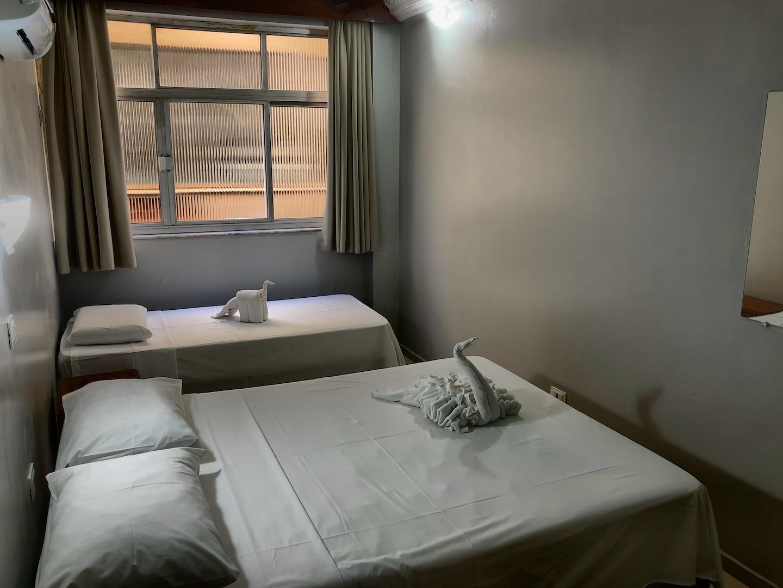 Zimmer im Hotel Mirante, Iguacu, Brasilien