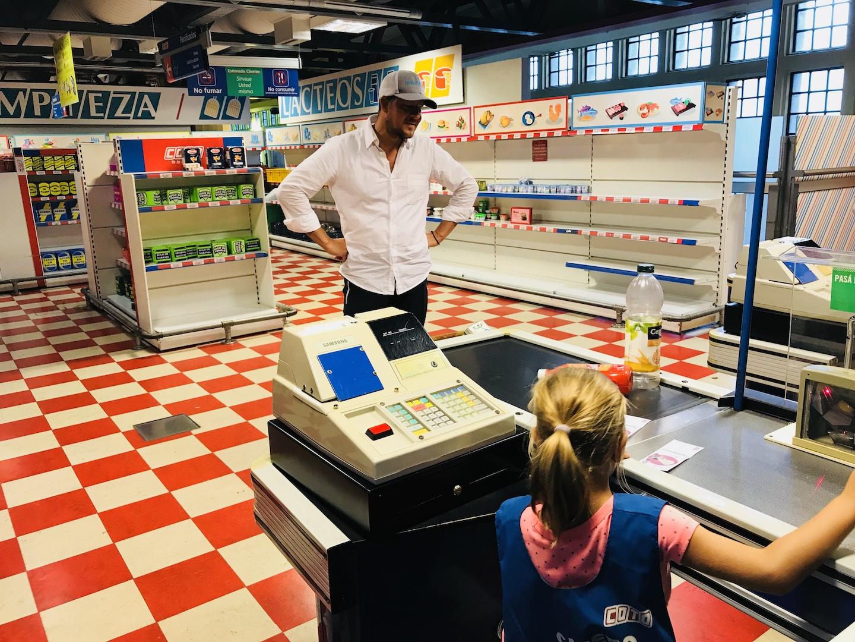 Supermarkt im Kindermuseum Buenos Aires