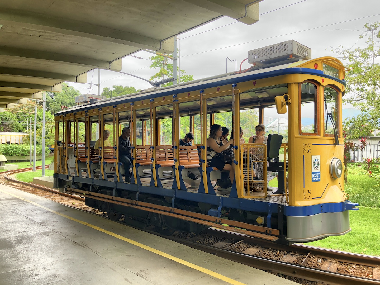 Straßenbahn nach Santa Teresa, Rio de Janeiro