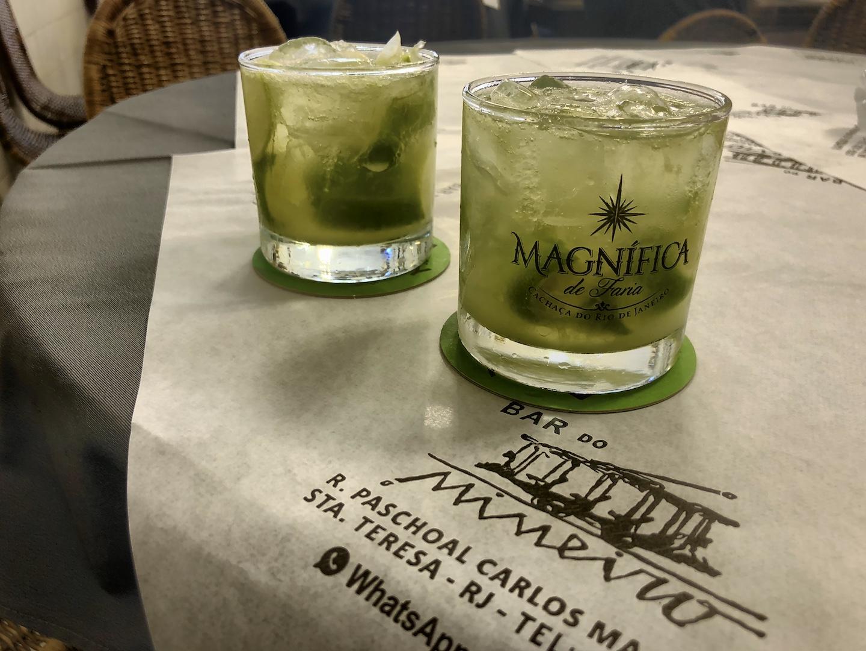 Caipi trinken in Santa Teresa
