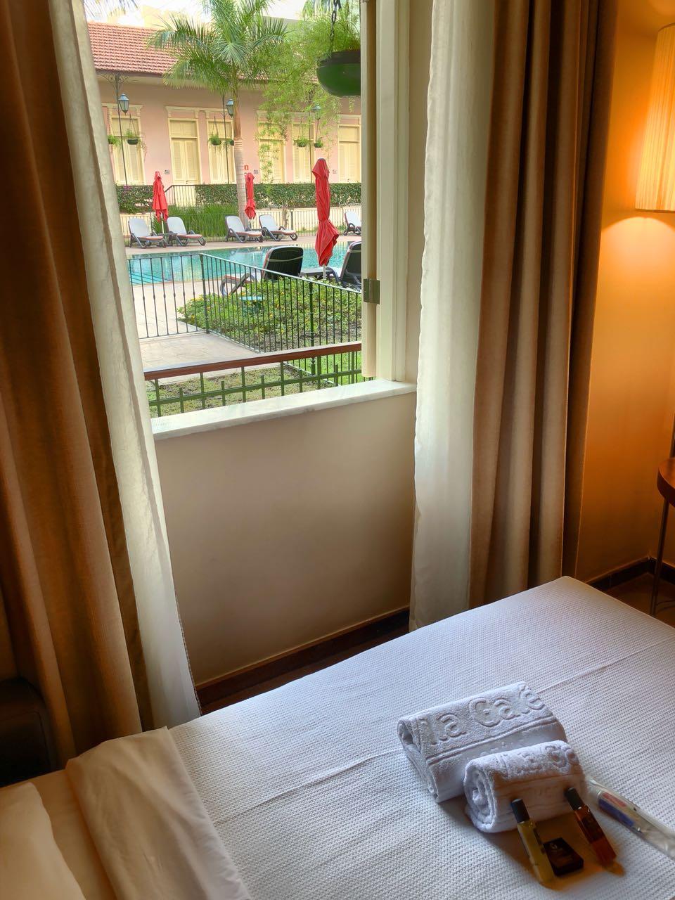 Zimmer am Pool im Hotel Vila Galé, Rio de Janeiro