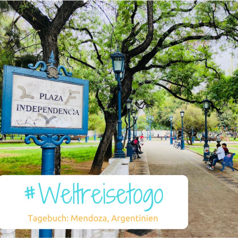 Weltreisetagebuch, Mendoza, Argentinien