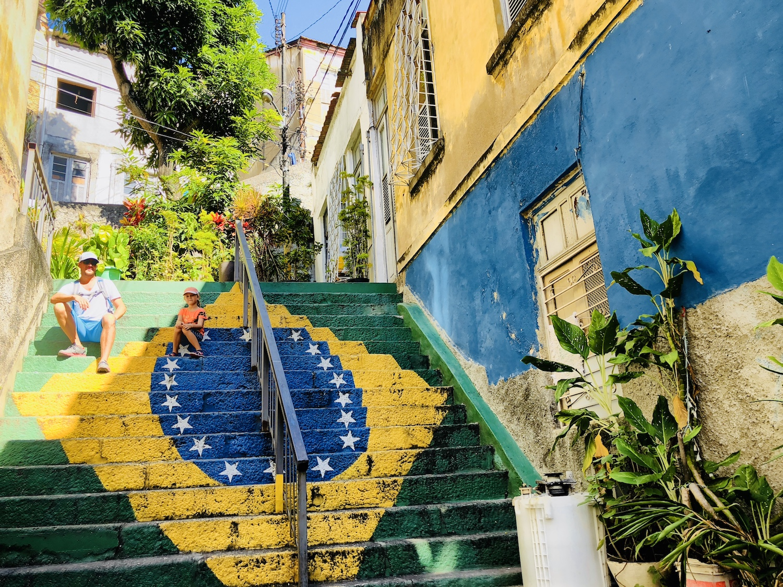 Altstadtviertel in Rio