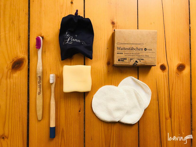 Müll im Badezimmer reduzieren