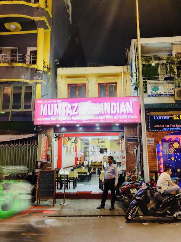 Mumtaz Indian, Bui Vien Street