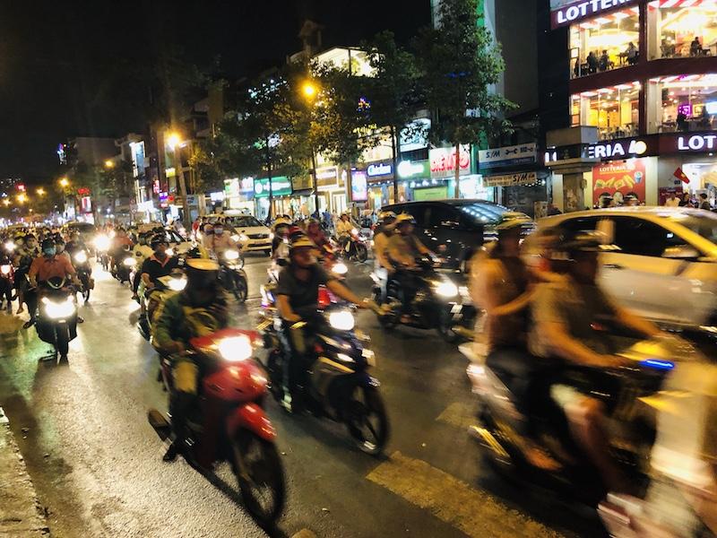 Verkehr in Ho Chi Minh