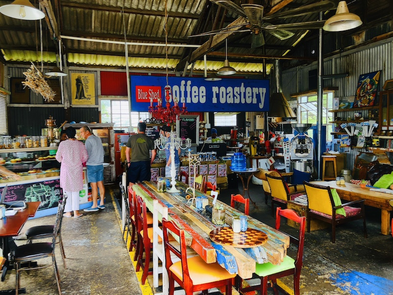 The Blue Shed Coffee Roastery, Mossel Bay