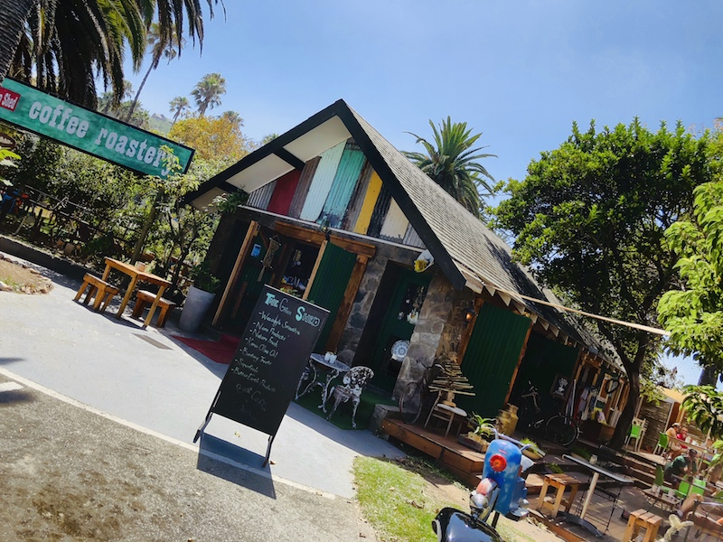 Green Shed Coffee Roastery, Wilderness, Südafrika