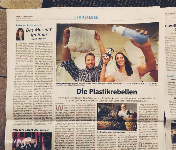 Zeitungsinterview Ruhrnachrichten