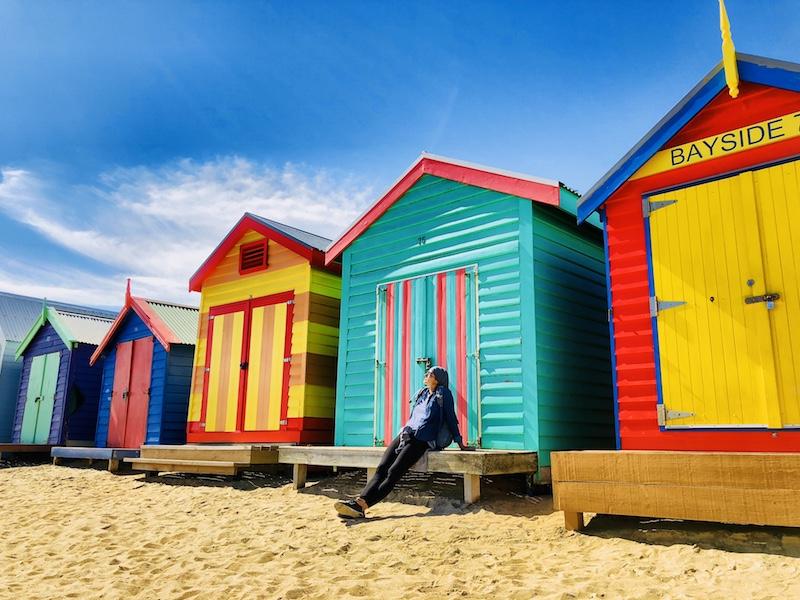 Beach Boxes, Brighton Beach