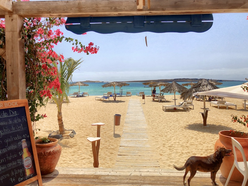 Alisios Beach Bar, Kapverden Boa Vista