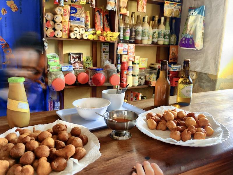 Kapverdische Leckereien in Bofareira