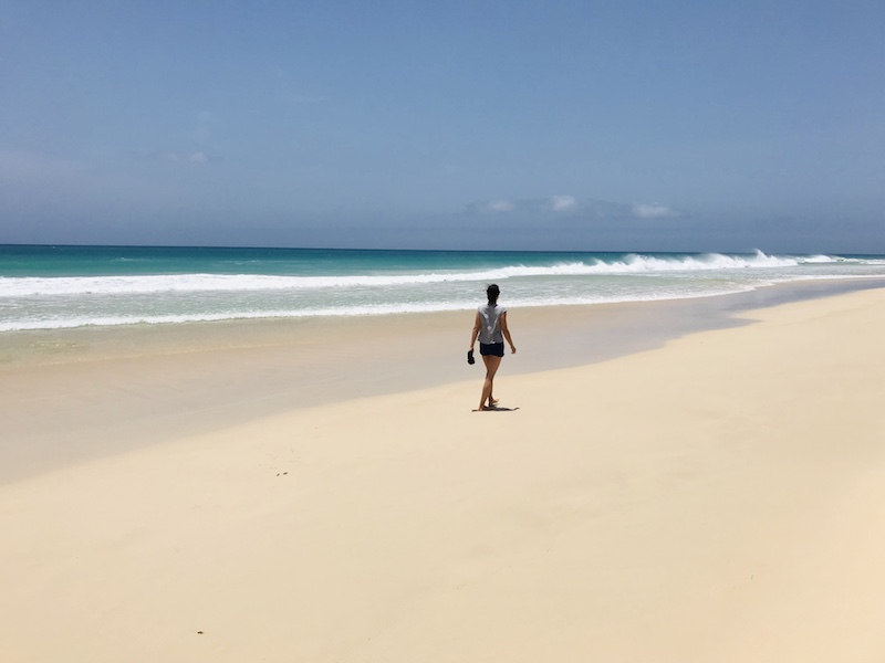 Santa Monica Beach, Boa Vista, Kapverden