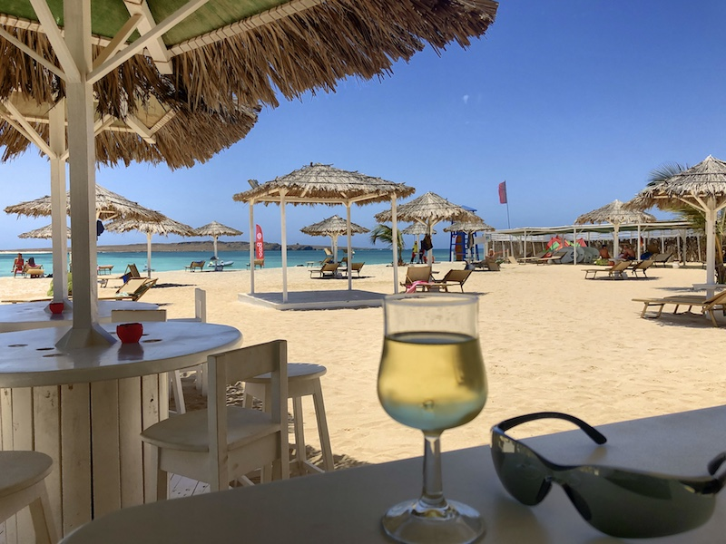 Tortuga Beach Bar, Boa Vista