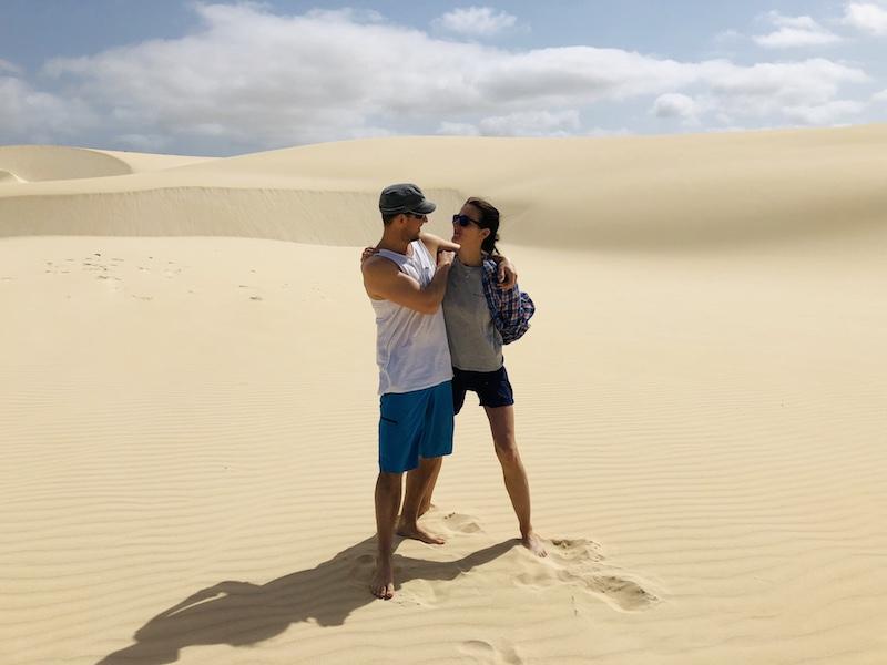 Wüste auf Boa Vista