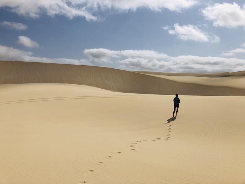 Viana Desert auf Boa Vista, Kapverden
