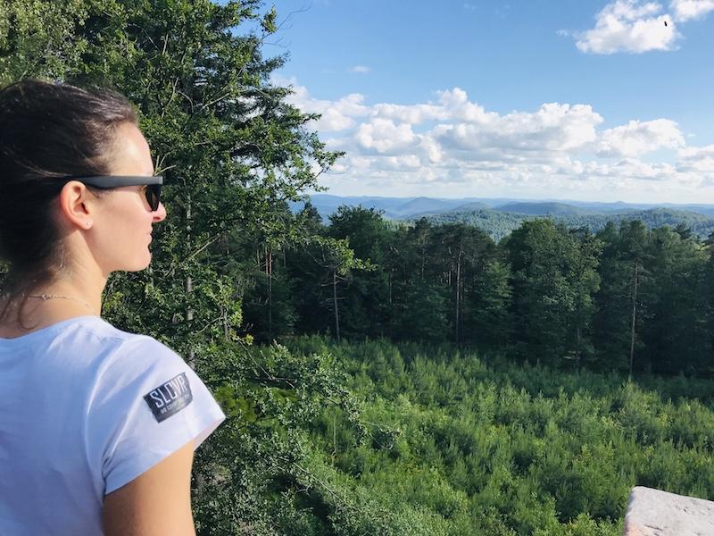 Auszeit in der Natur, Aussichtsturm