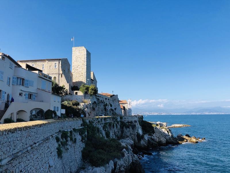 Antibes, alte Festungsmauer