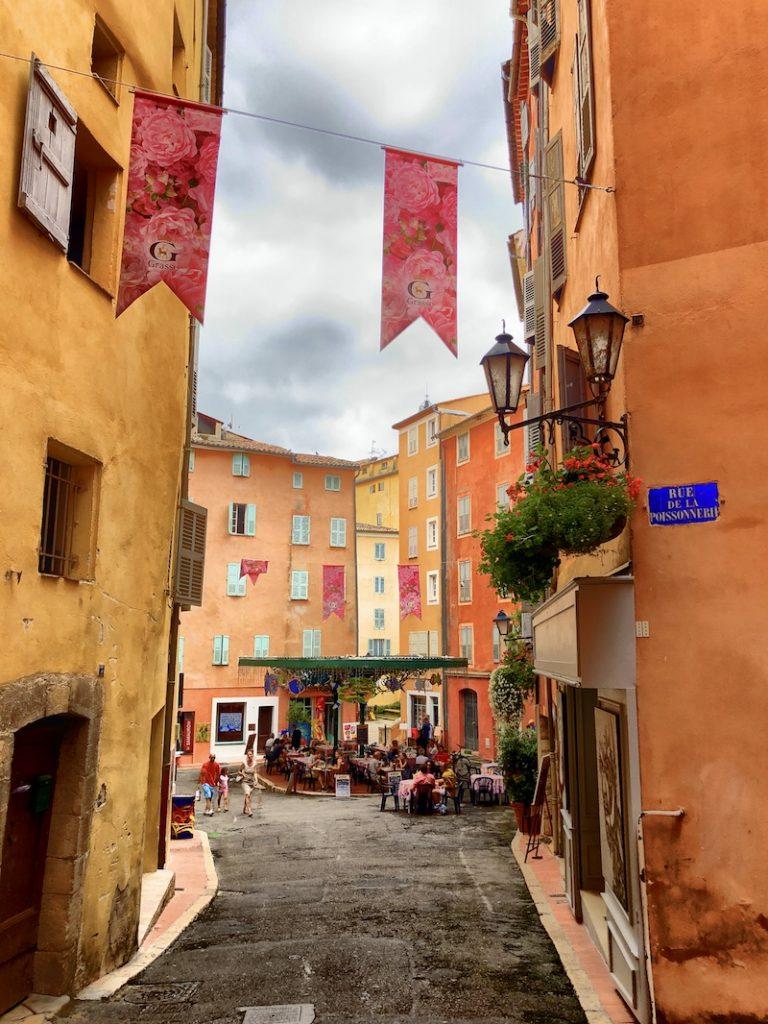 Altstadt in Grasse, Côte d'Azur