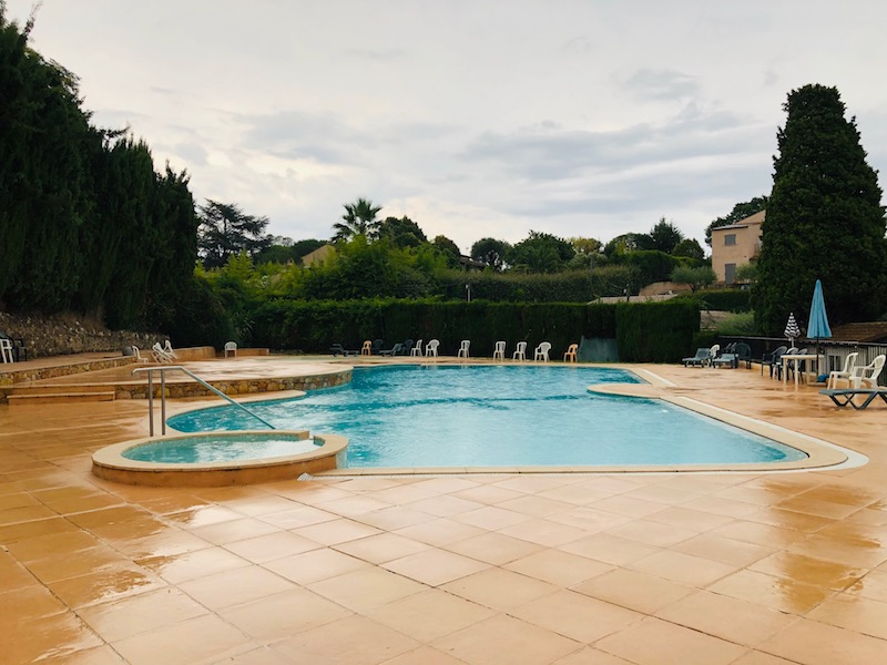 Pool auf dem Campingplatz Camping L'Eden Vacances in Biot, Côte d'Azur