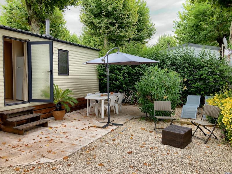 Superior Mobilehome auf dem Campingplatz Camping L'Eden Vacances in Biot, Côte d'Azur
