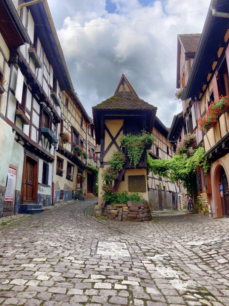 Altstadt in Eguisheim, Elsass