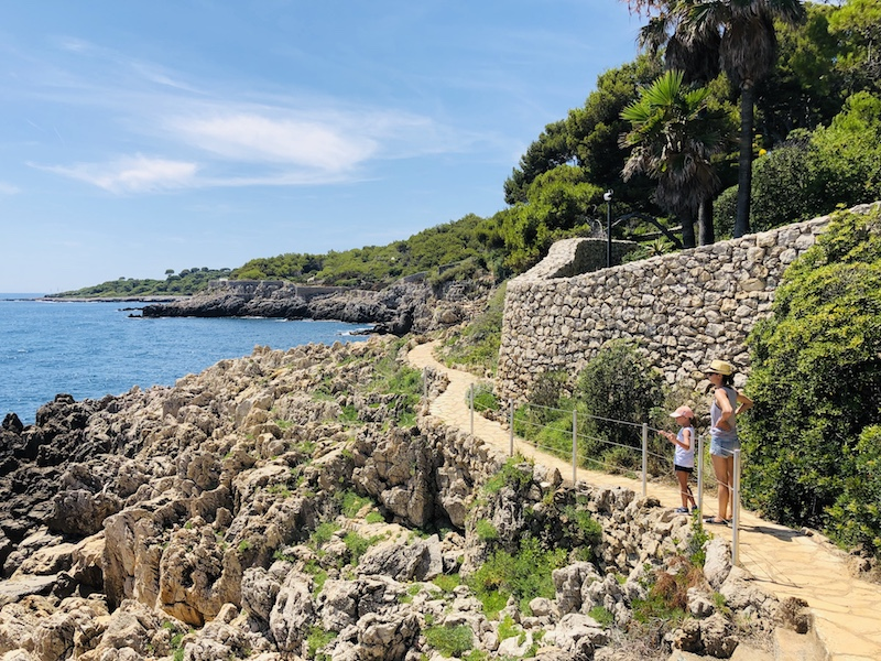 Wanderung am Cap d'Antibes