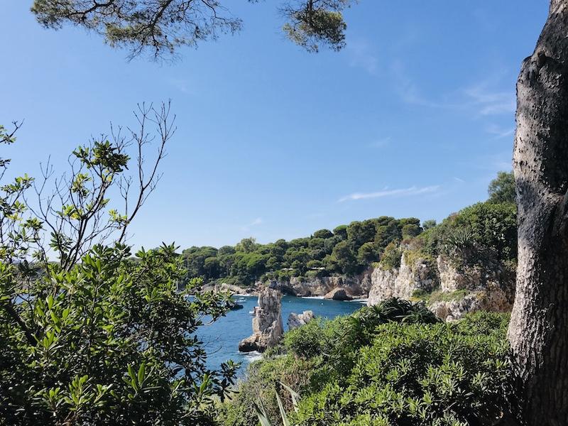 Cap d'Antibes Ausblick