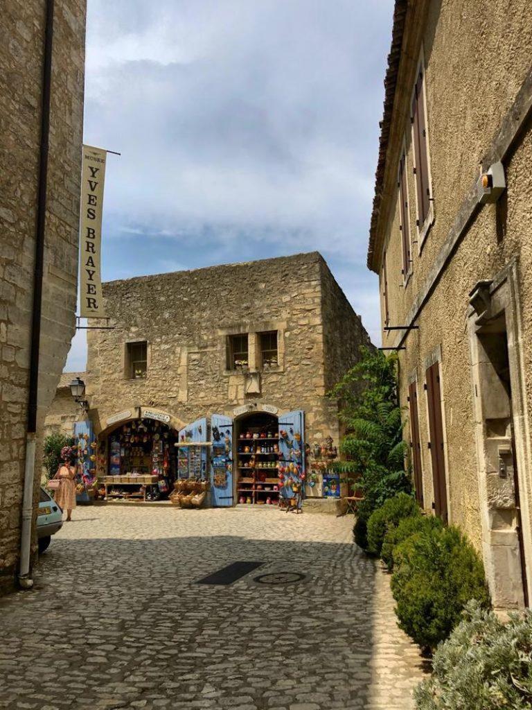 Blick in Altstadtbereich in Les Beaux de Provence