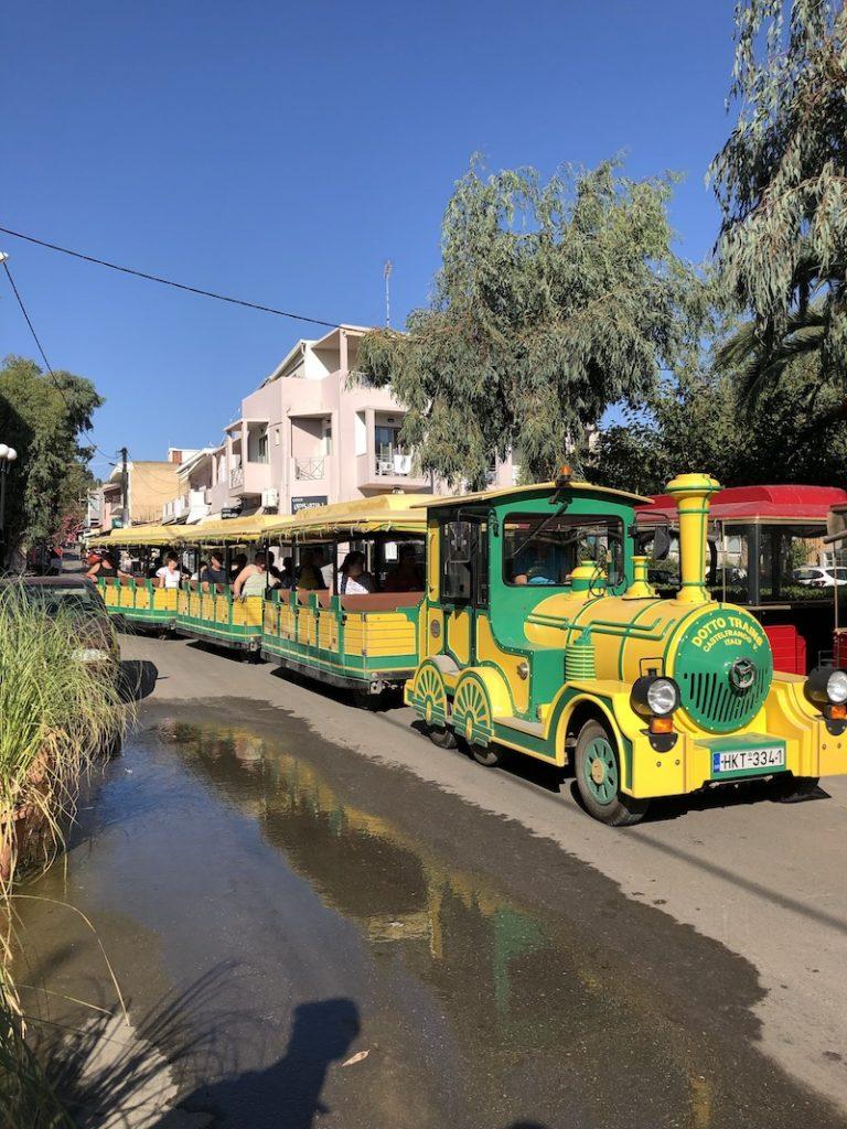 Bimmelbahn auf Kreta
