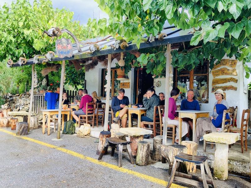 Das Kleine Café, Kreta