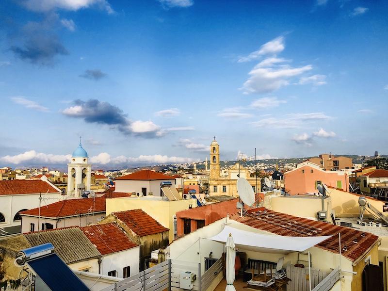 Blick über Chania, Kreta