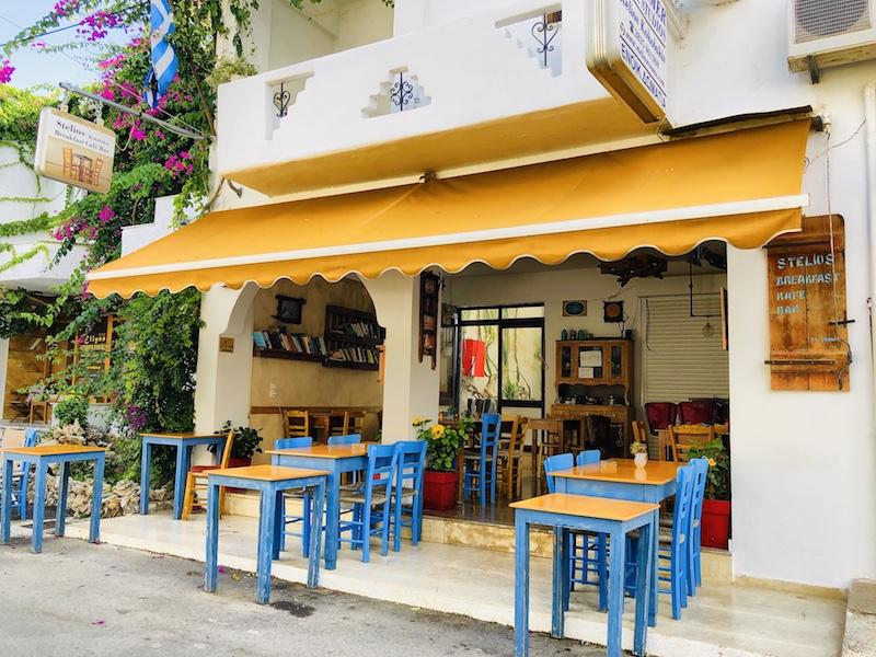 Kleine Taverne in Georgioupolis auf Kreta