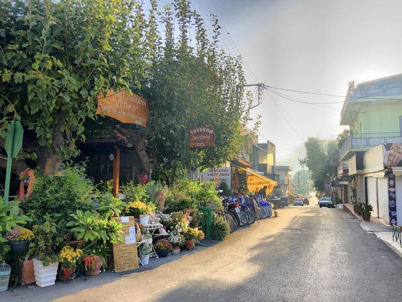 Taverna Mythos in Georgioupolis, Kreta