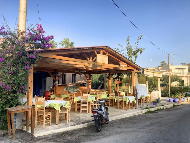 Kleine Taverne in Georgioupolis